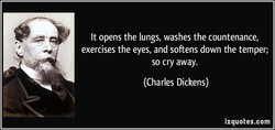 It opens the lungs, washes the countenance, 