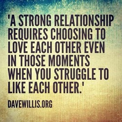 STRONG RELATIONSHIP 