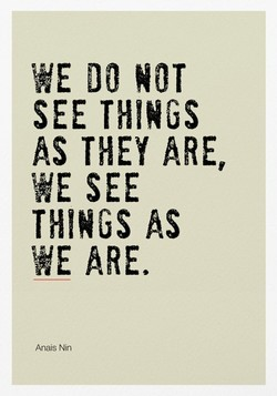 WE DO NOT 
