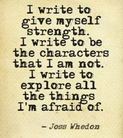 I write to 