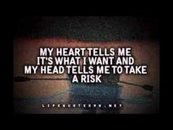 MY HEART,TELLS ME 