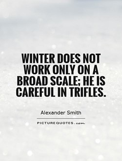 WINTER DOES NOT 