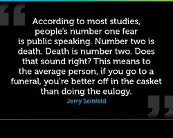 According to most studies, 