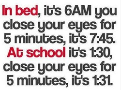 In bed, ibS 6AM you 