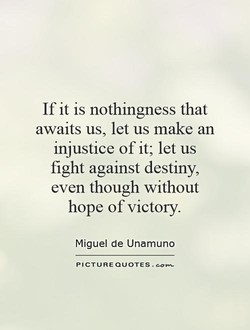 If it is nothingness that 