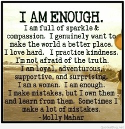 1 AM ENOUGH, 