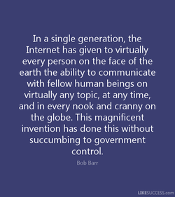 In a single generation, the 