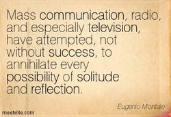 Mass communication, radio, 