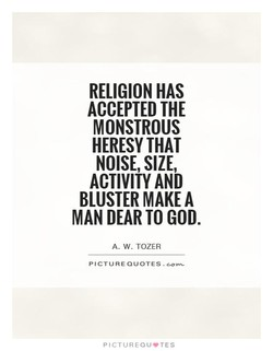 RELIGION HAS 