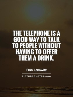 THE TELEPHONE IS A 