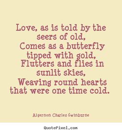 Love, as iS told by the 
