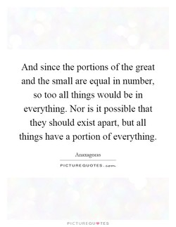 And since the portions ofthe great 