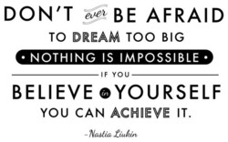DON'T AFRAID 