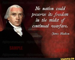 No nation could 