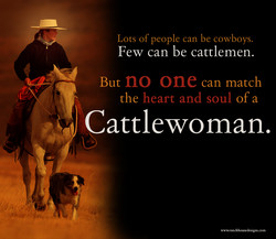 Lots of people can be cowboys. 