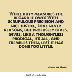 WHILE DUTY MEASURES THE 