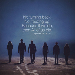 No turning back. 