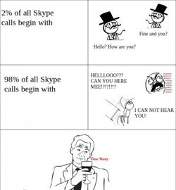 Of all Skype 