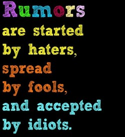Rumors 