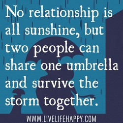 No relationship is 