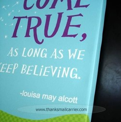 AS LONG AS WE 