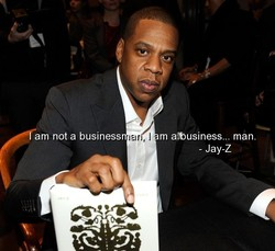 am not a business 