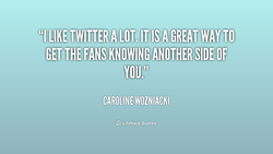 FANS KNOWING ANOTHER SIDE OF. 