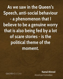 As we saw in the Queen's 