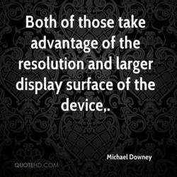 Both of those take 