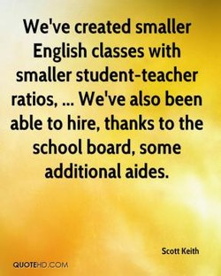We've created smaller 