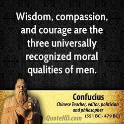 Wisdom, compassion, 