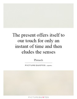 The present offers itself to 