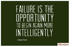 FAILURE IS THE 