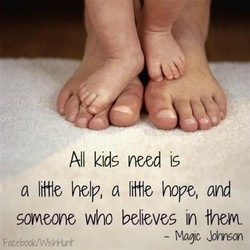 All kids need 15 