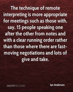 The technique of remote 