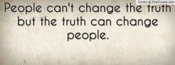 eople can't change the 