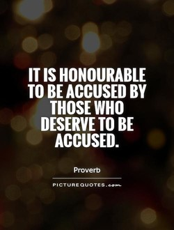 IT IS HONOURABLE 