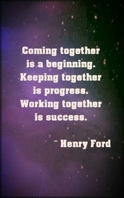 Coming togethei 