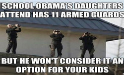 SCHOOL OBAMA'S DAUGHTERS 