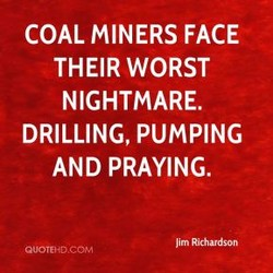 COAL MINERS FACE