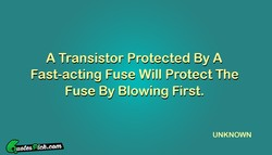 A Transistor Protected By A 
