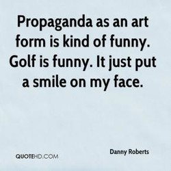 Propaganda as an art 