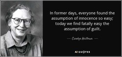 In former days, everyone found the 