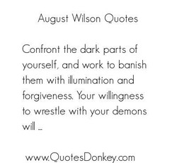 August W' son Quotes 