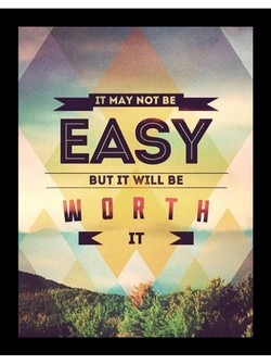 IT MAY NOT BE 