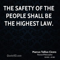THE SAFETY OF THE 