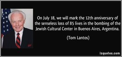 On July 18, we will mark the 12th anniversary of 