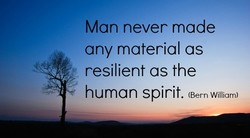 Man never made 