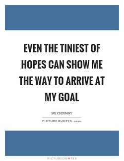 EVEN THE TINIEST OF 