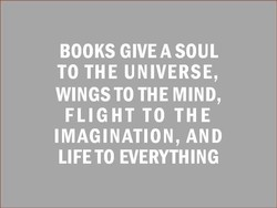 BOOKS GIVE A SOUL 